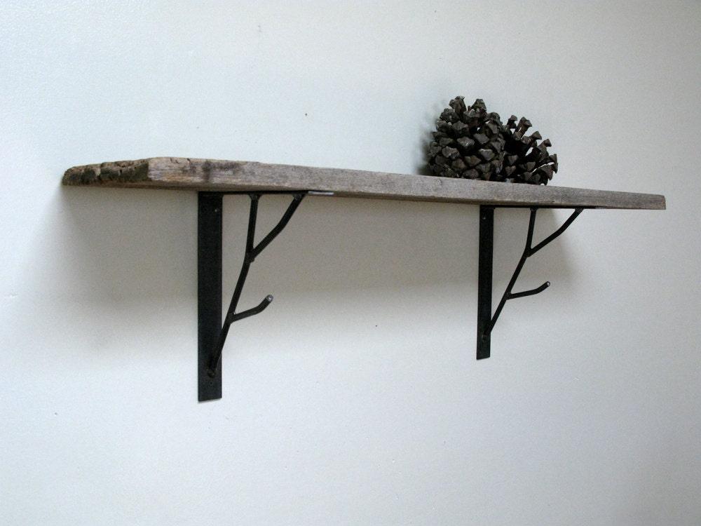Branch shelf bracket painted finish - HawkAndStone