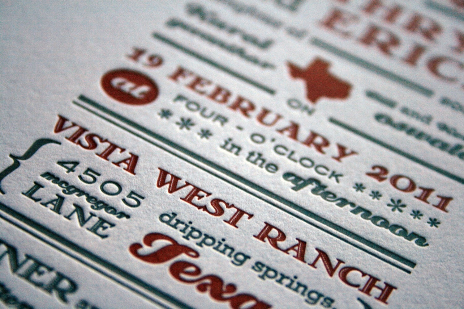 Texas Inspired Invitation, completely customizable