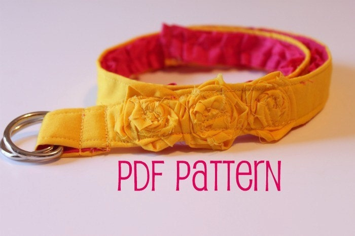 Reversible Belt All Sizes PDF Sewing Pattern