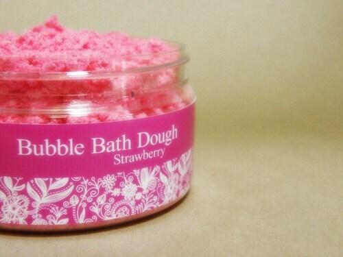 Bubble Bath Dough - Strawberry Surprise