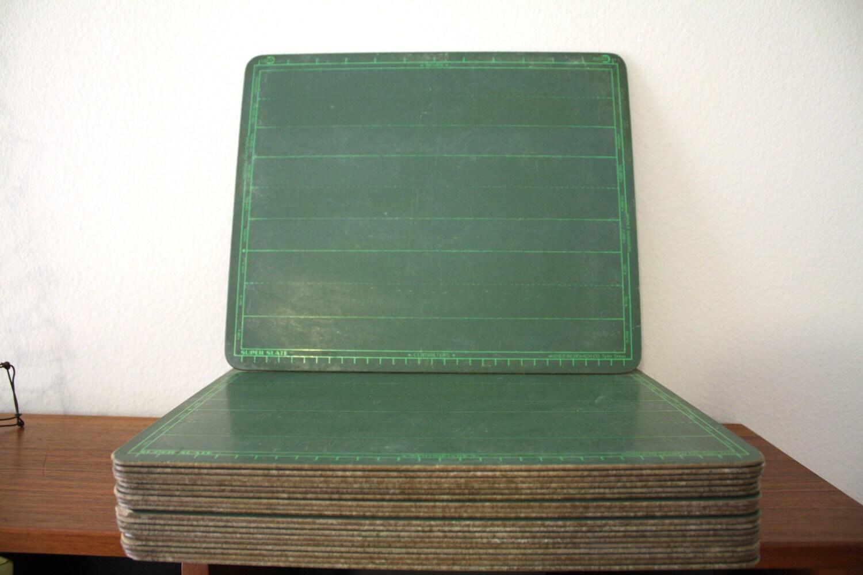 Green School Chalkboard, Super Slate Writing Tablet - 1SweetDreamVintage