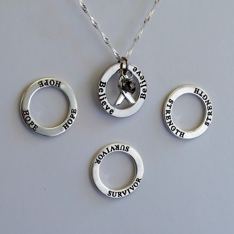Dyslexia Awareness Silvers: Strength Survivor Hope Believe Custom By ShadesofAwareness