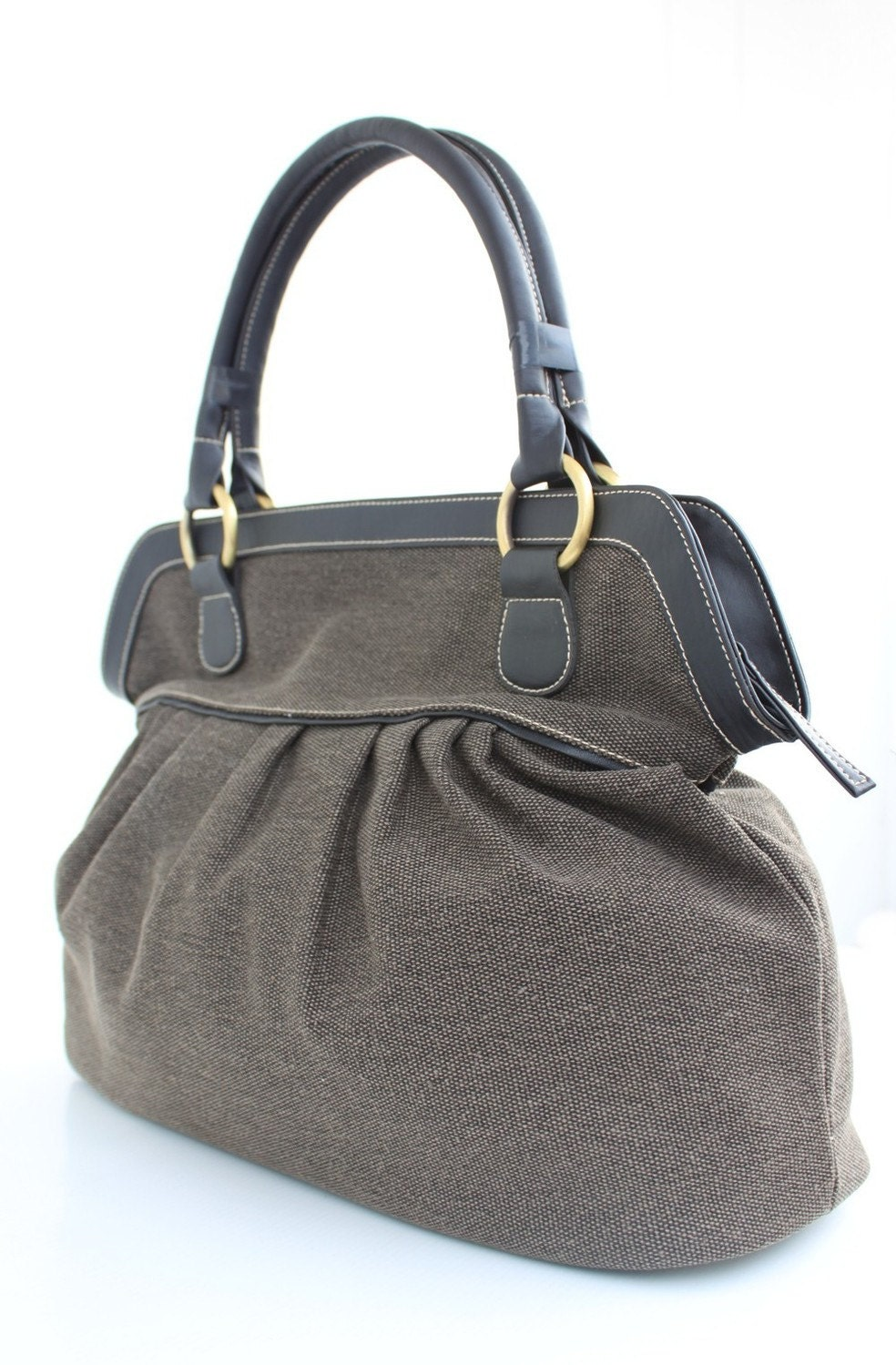 Brown Chocolate Color Handbag