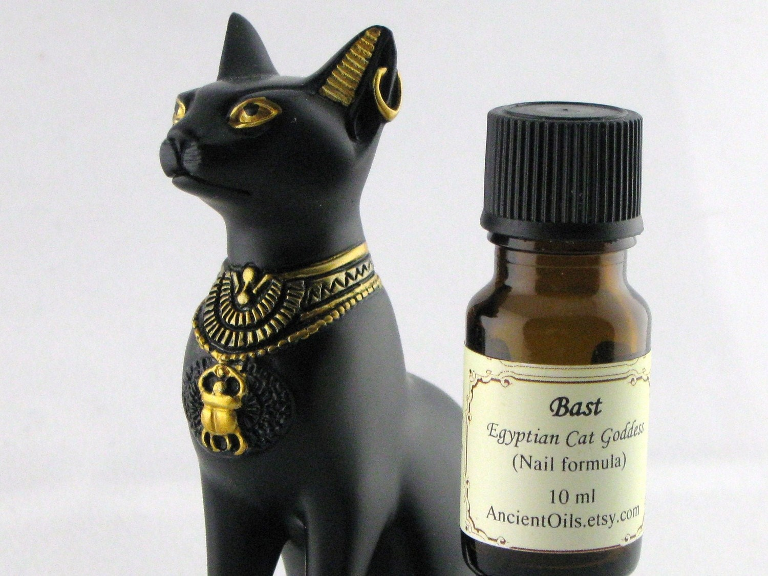 Bast - Egyptian Cat Goddess Nail Formula    (Improved Formula)     10 ml