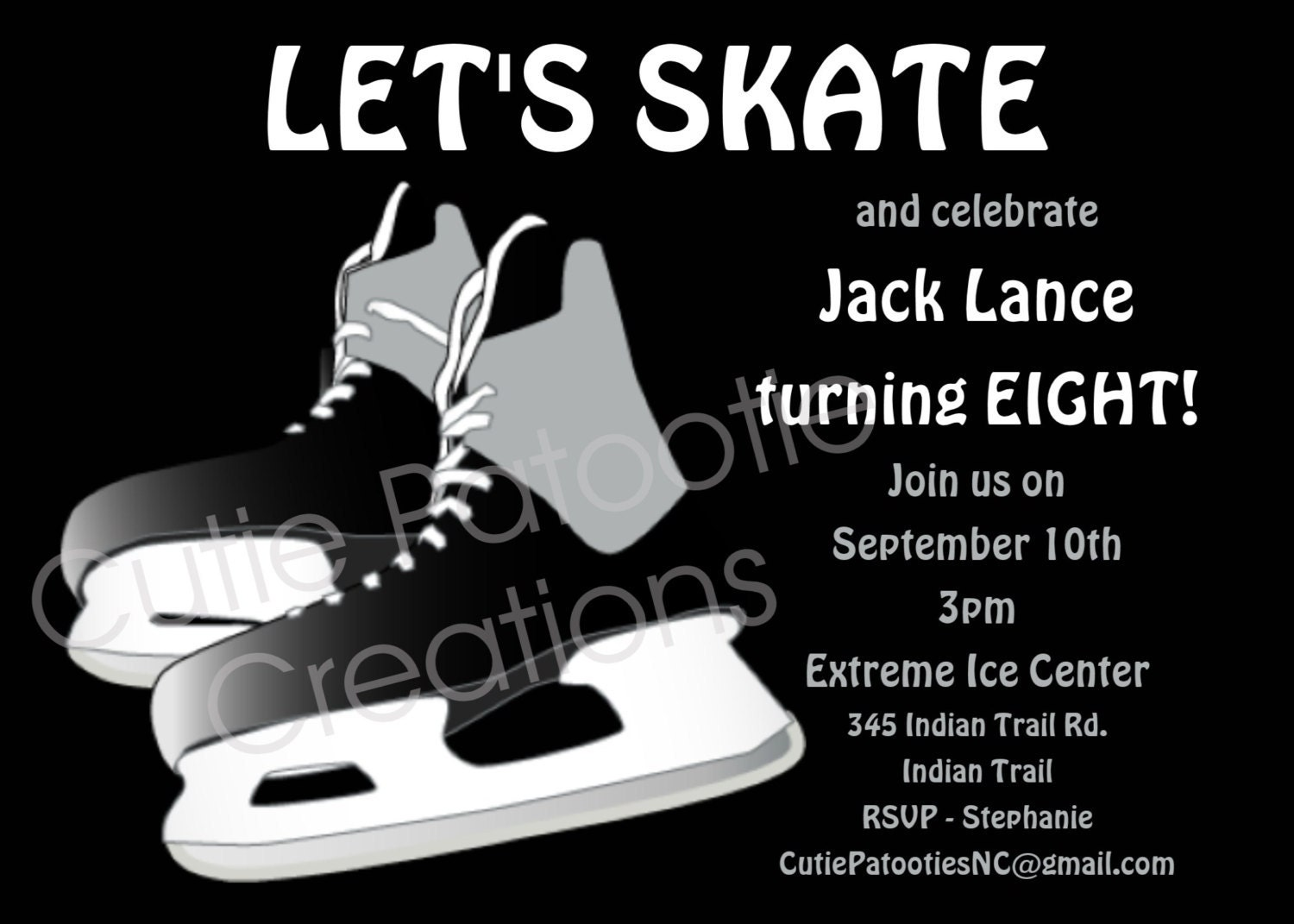 Ice Skating Invites as best invitations layout