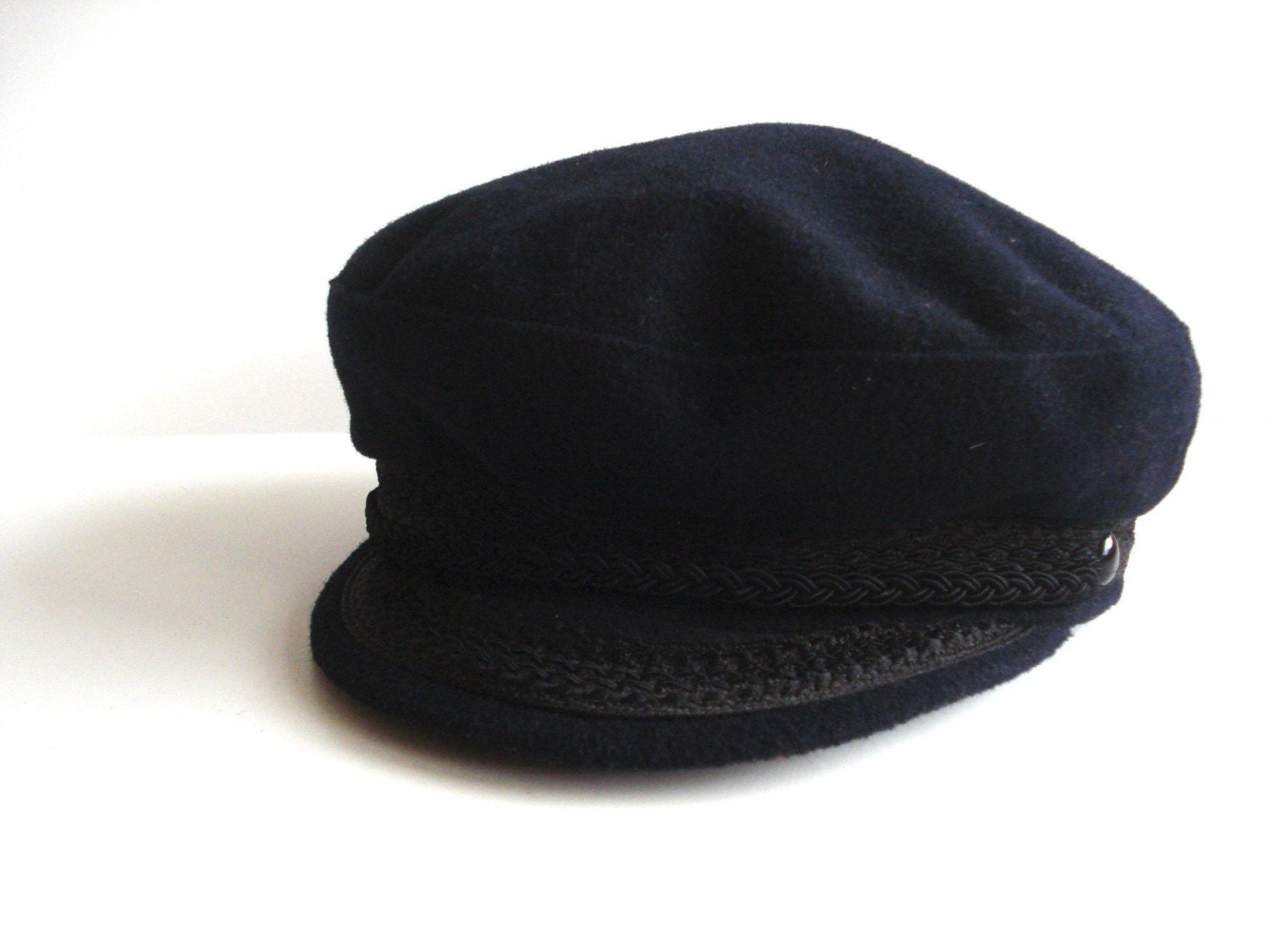 Vintage Navy Sailor Captain Cap from Pudding