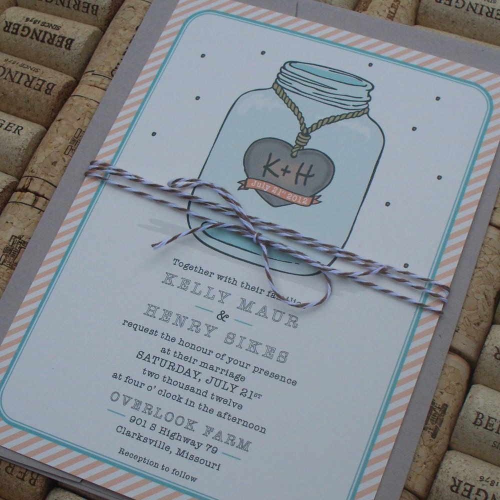 Rustic Wedding Invitation Packages with nice invitations layout