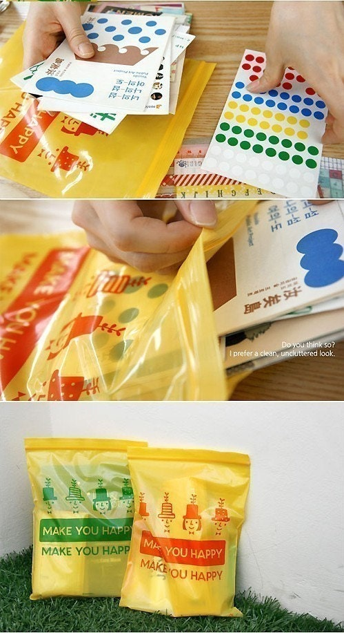 Lolly pack 23 sheet - medium (Plastic Poly Bag)