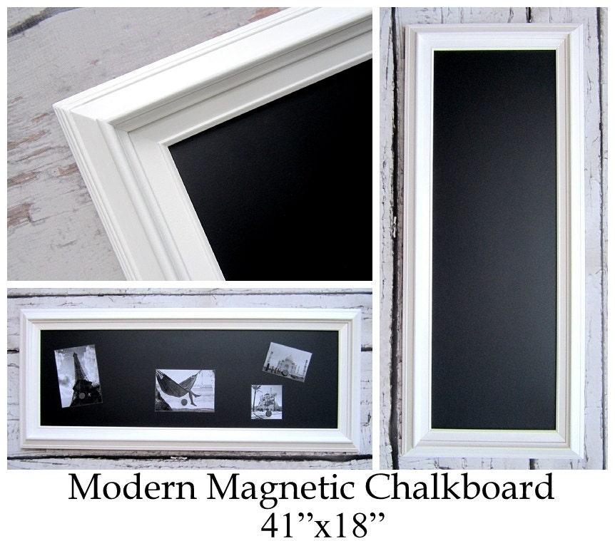 Amazoncom white framed chalkboard