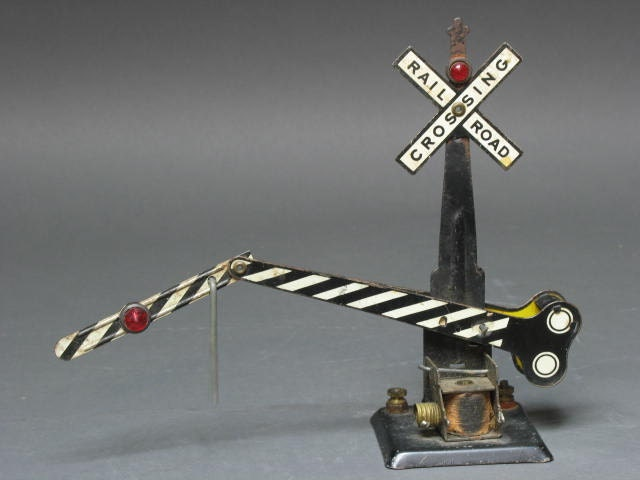 Antique railroad Electrical crossing signal for a by ...