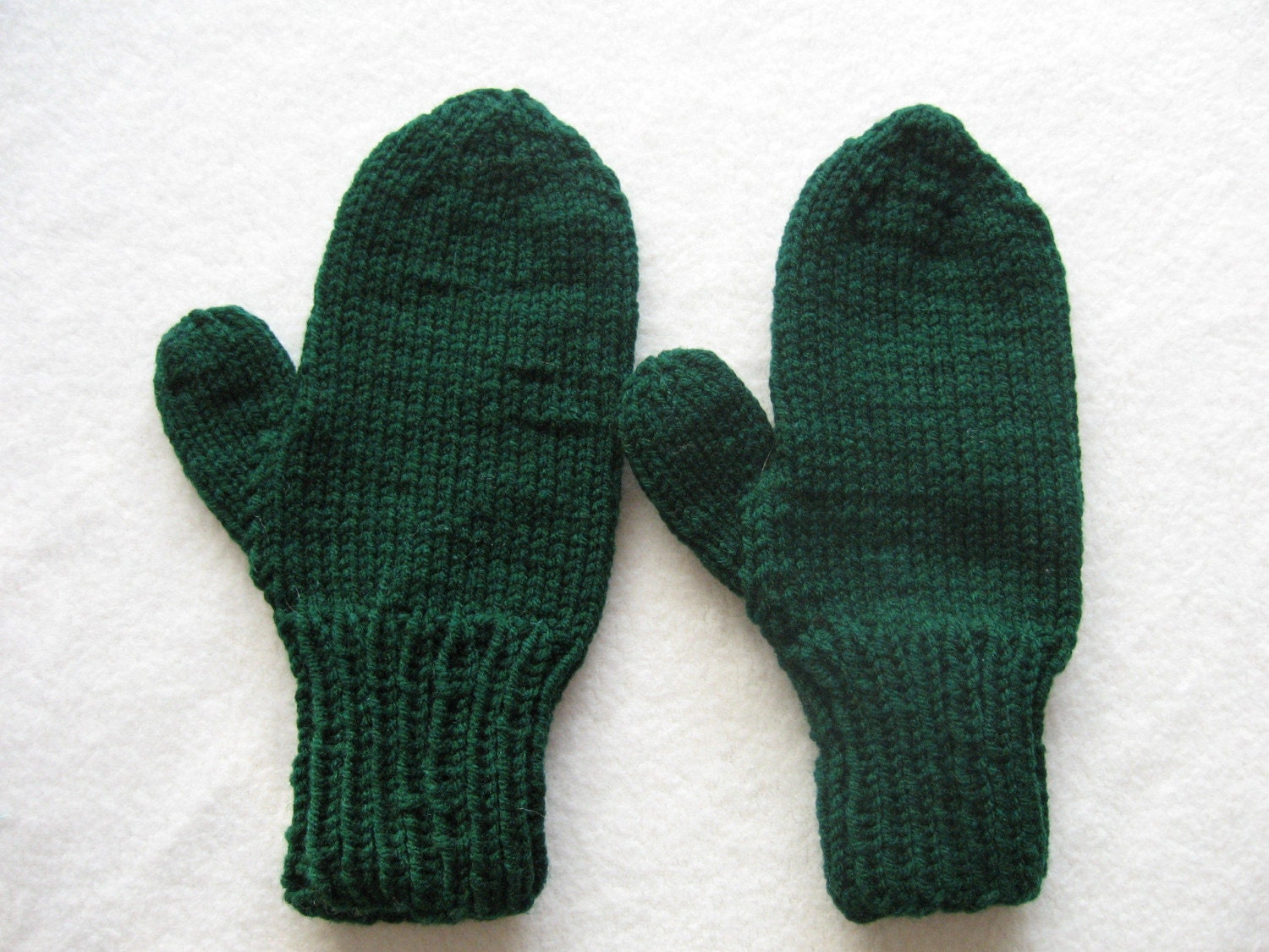 Basic Crocheted Mittens | AllFreeCrochet.com