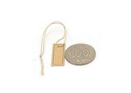 mini name tags - set of 50