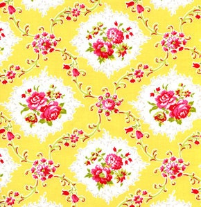 Jennifer Paganelli- Dance with me-Kayla in yellow-1 yard
