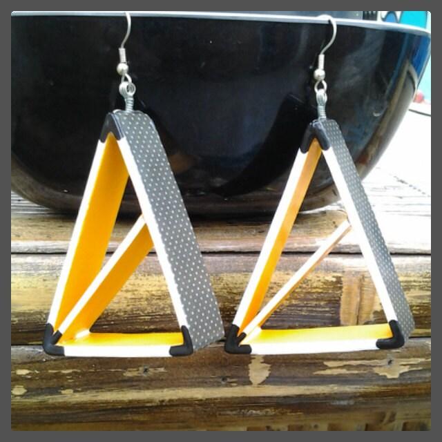 Geometric Earrings - RenArtesania