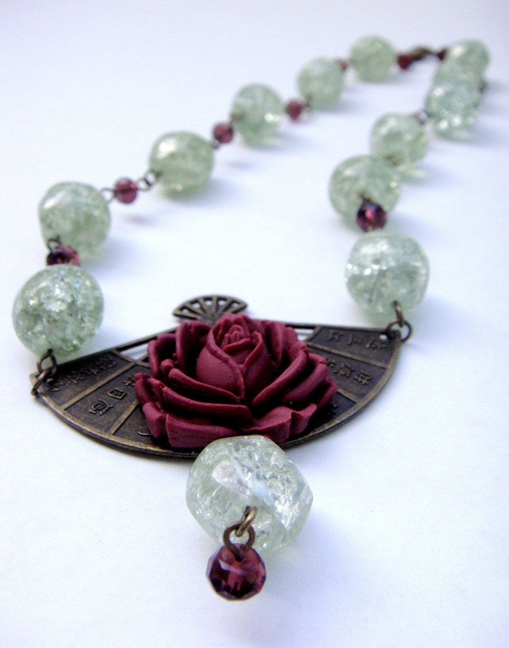 GARDEN ROSE NECKLACE