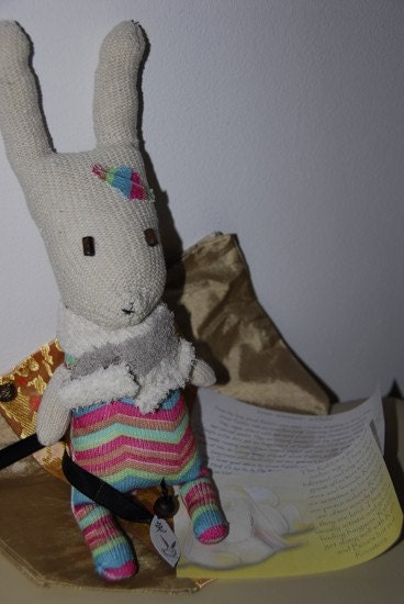 Chinese Zodiac sock puppet- personalized to your animal and element