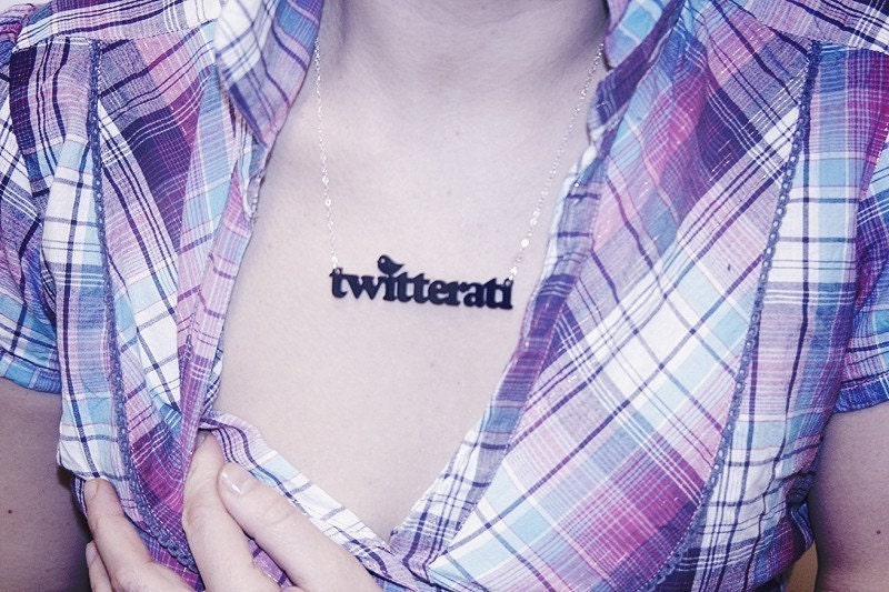 collier Twitterati CouchObjects