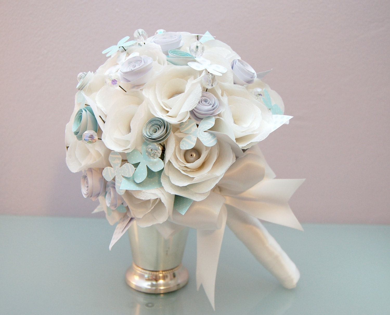 Bridal Bouquet Paper Flowers : Unavailable listing on etsy