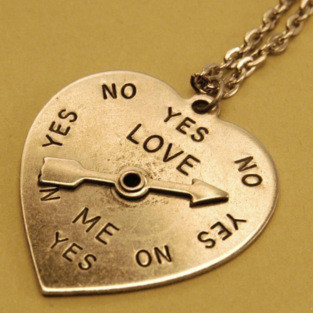 Silver 50s Spinner Heart