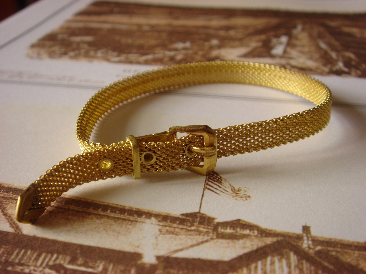 Gorgeous Vintage - Adjustable Bracelet
