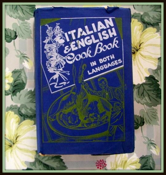 Vintage Italian Cookbook Cucina - 109.7KB