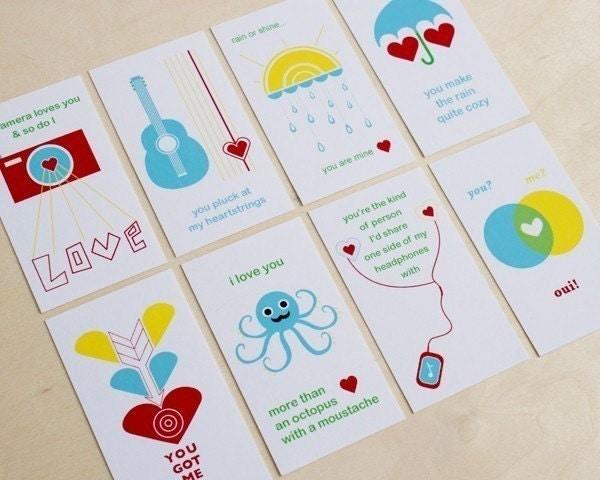 Love Note Mini's -Printable PDF