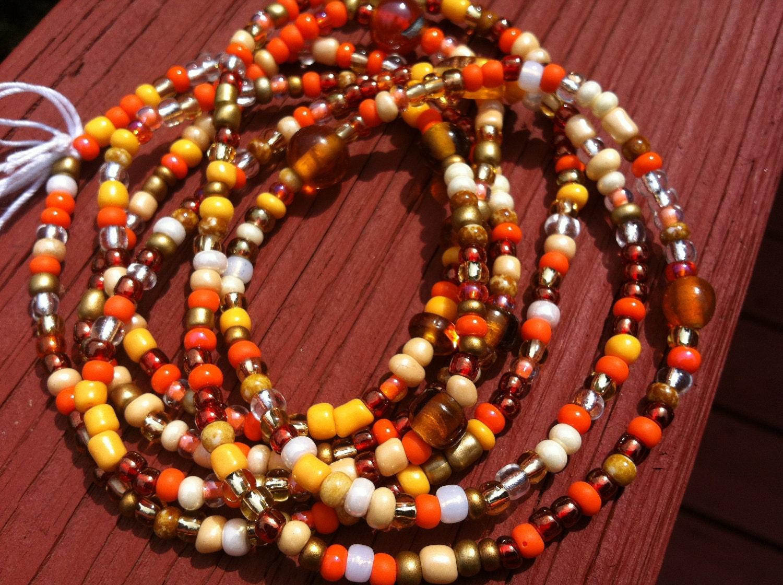 FANTASIA Set of 2 African Waist Beads
