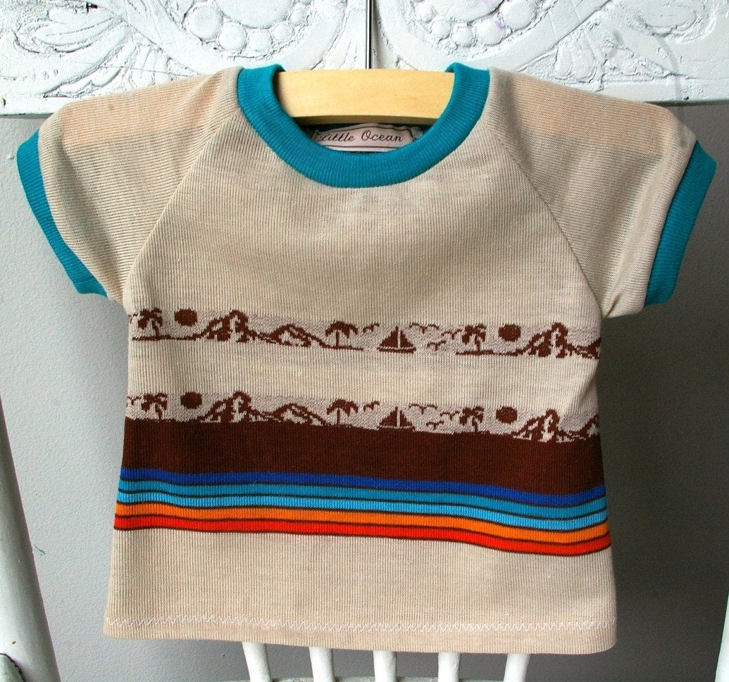Toddler Retro Tee