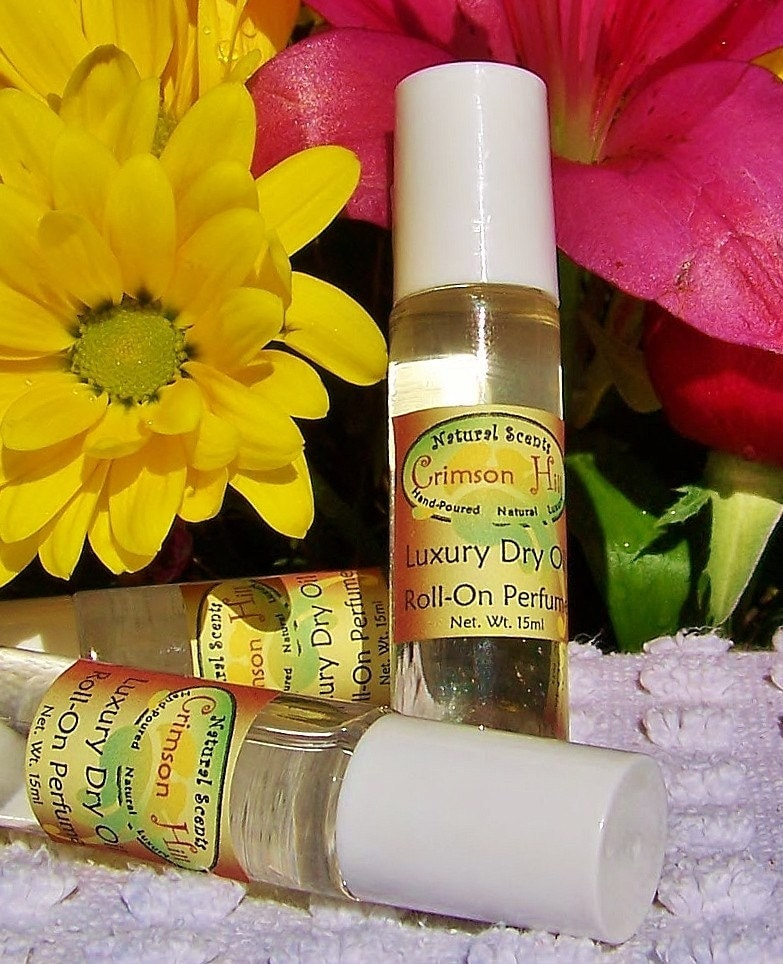 NEW-Natural Perfume Oil- Spring Passion Flower