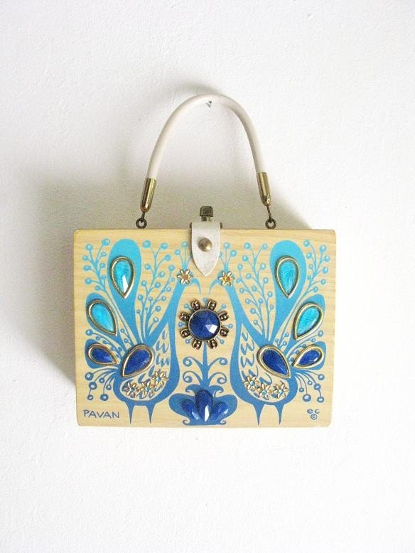 Enid Collins Pavan Box Purse
