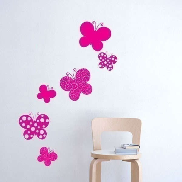 Flutter-bys Wall Decal
