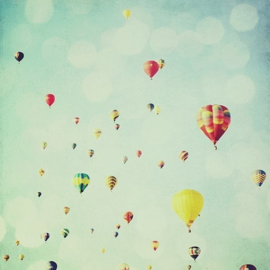 Ballooning - 4x4 fine art photo print