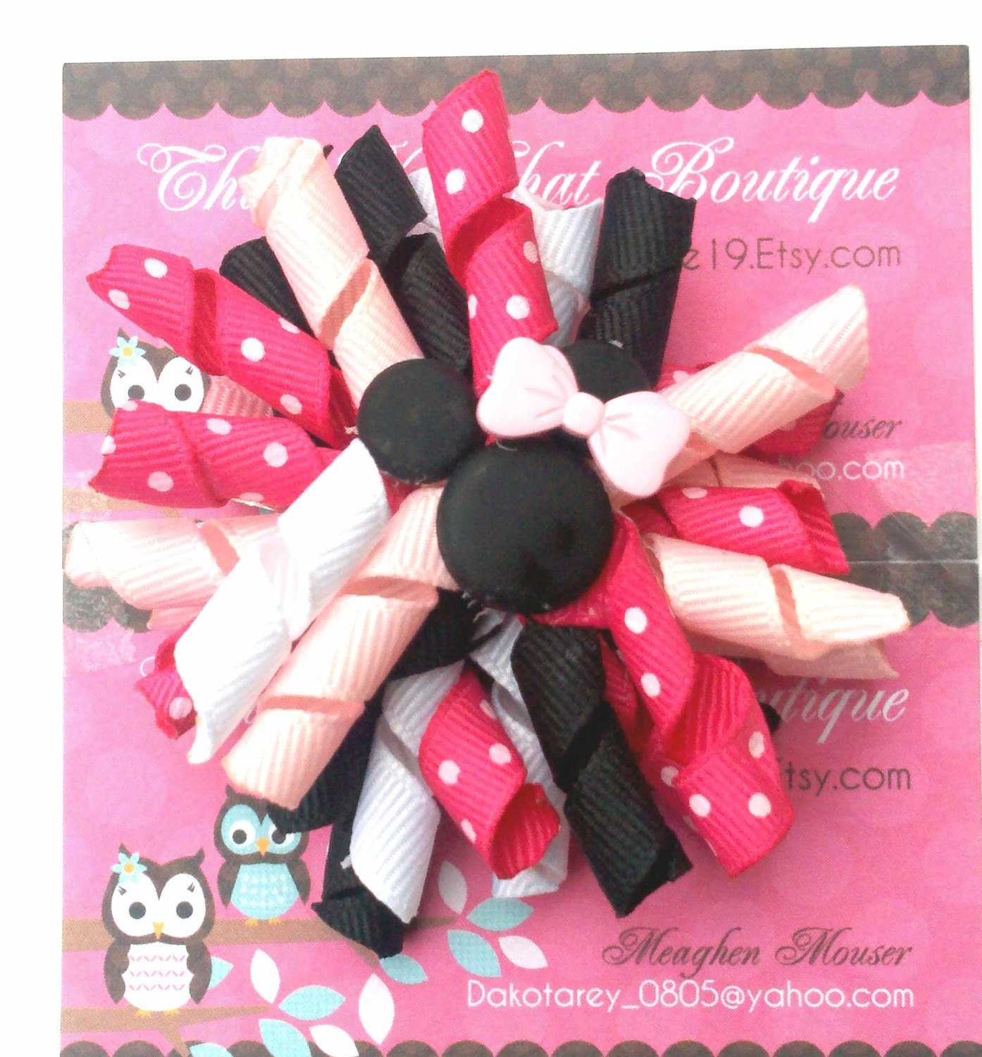 Minnie Mouse Korker Bow