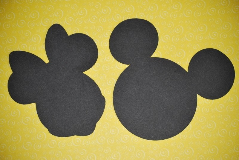 Mickey Mouse Silhouette Printable Images & Pictures - Becuo