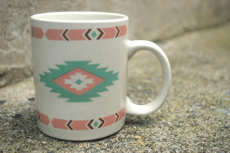 Vintage Southwestern Inspired Mug - zajebistaaa