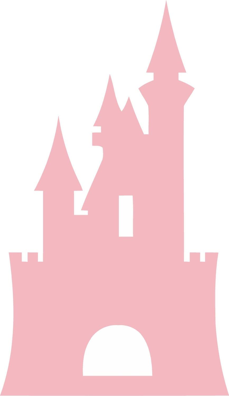 Disney Castle Silhouette Wall Decal - cinderella castle ...