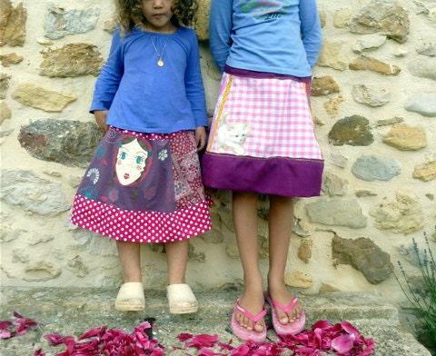 Cute Skirts Pattern -- CreateForLess