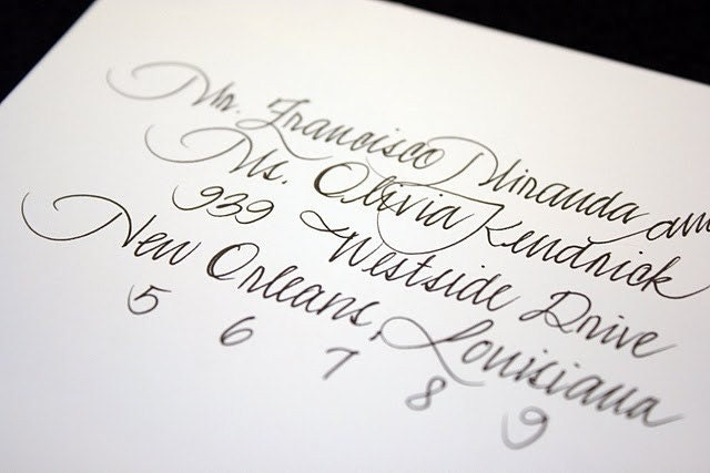 Calligraphy by 2inspire - Style No. 2
