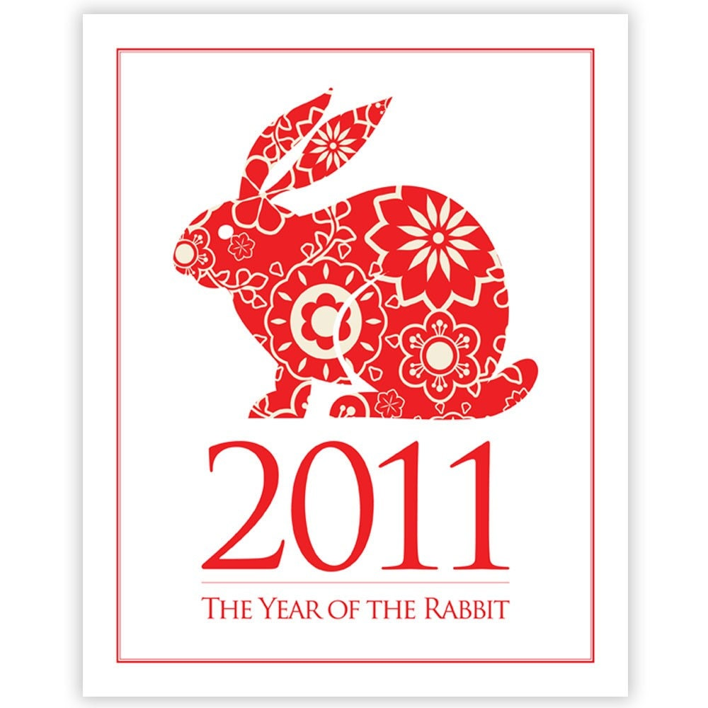 year of the rabbit 2011 by eden creative studio - Chinese New Year 2011