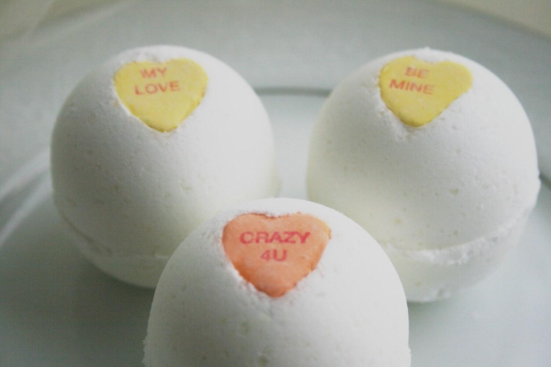 Sweetheart Bath Bombs - Set of 3