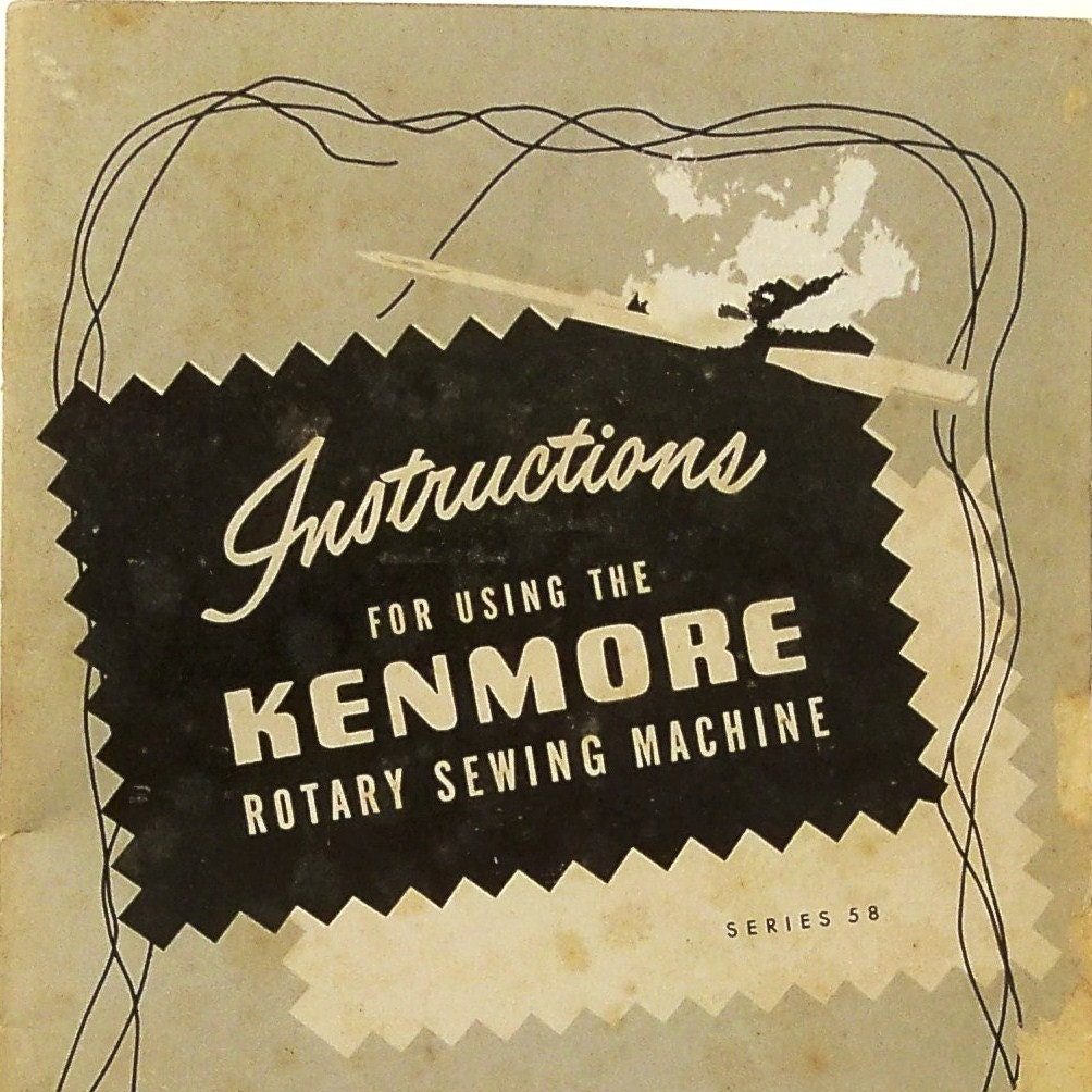 1950 kenmore sewing machine