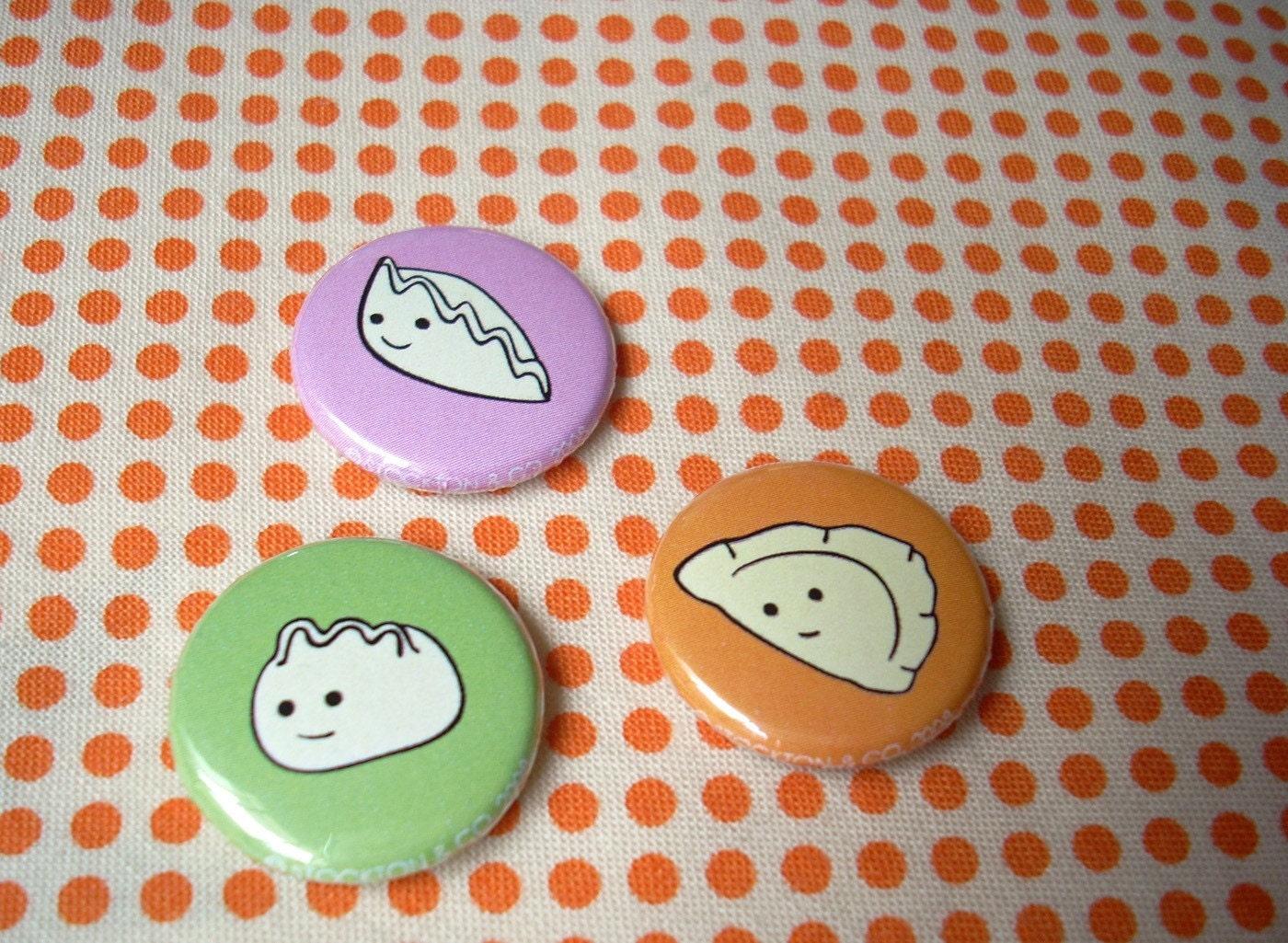 team international dumpling button set