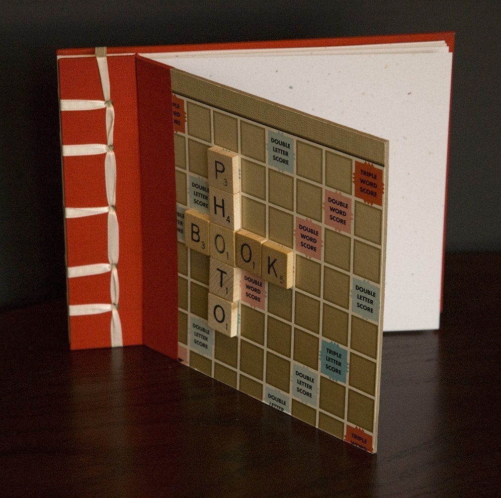Custom Scrabble album