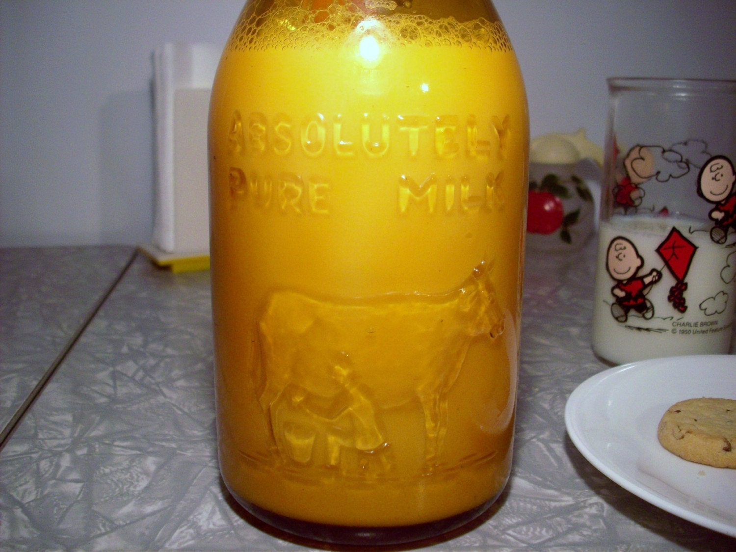 1964 Treasure From Thatchers Dairy Amber By