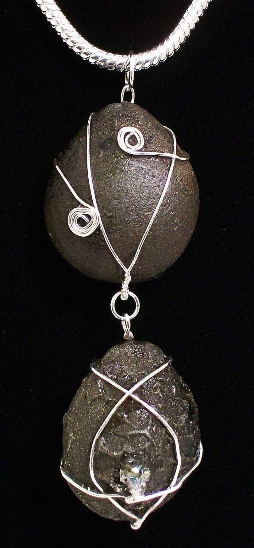 Soul Mates Boji Stone Energy Healing Necklace