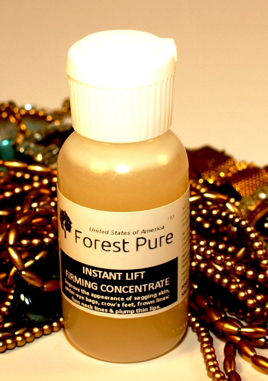 Instant Lift Firming Concentrate Anti-aging Antioxidant Skin Care Regimen  -  By Forest Pure (with DMAE & MSM)