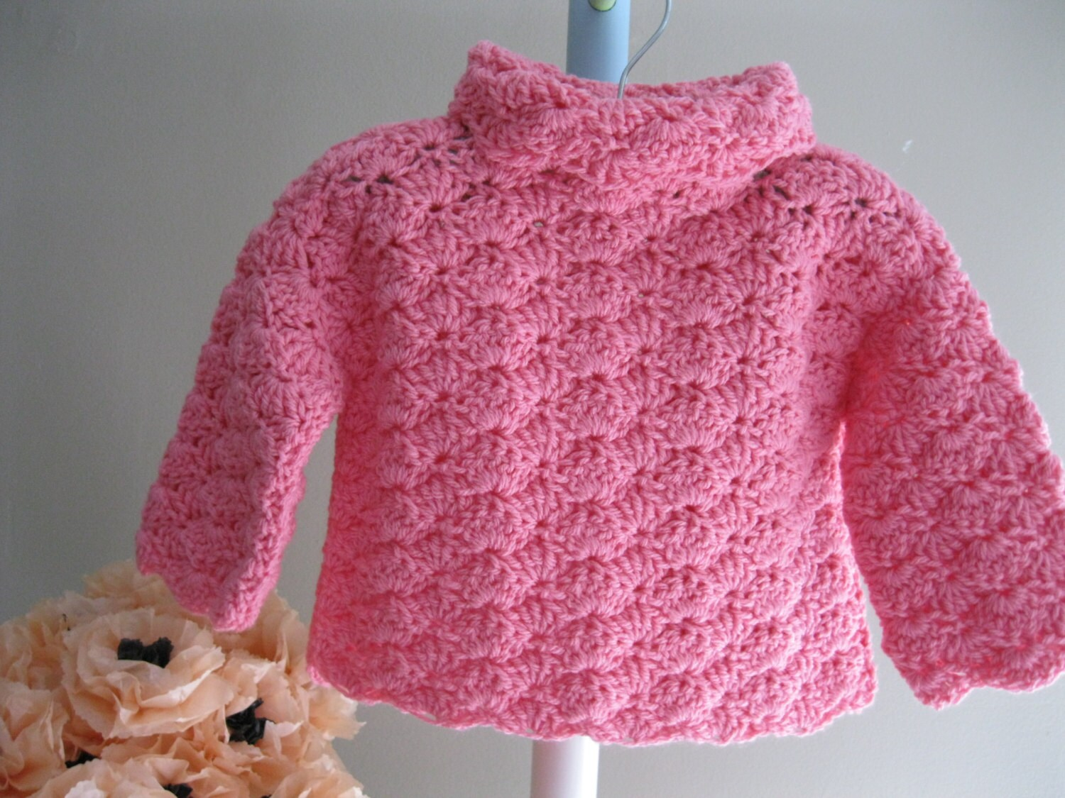 baby sweater pattern ruthie 39 s sweater