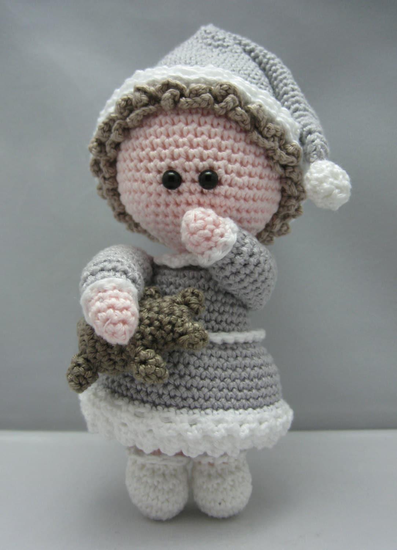 Sleepy Head Instant download Amigurumi doll crochet by ...