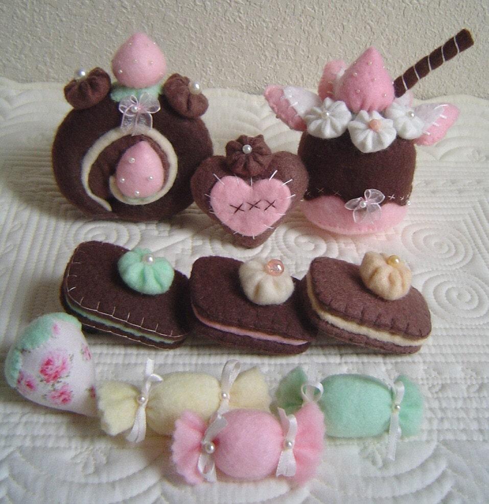 Cute felt sweets!
