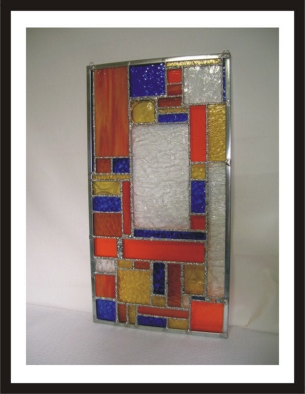Stained Glass Windows - Hanging Window Art - Handmade for Home or